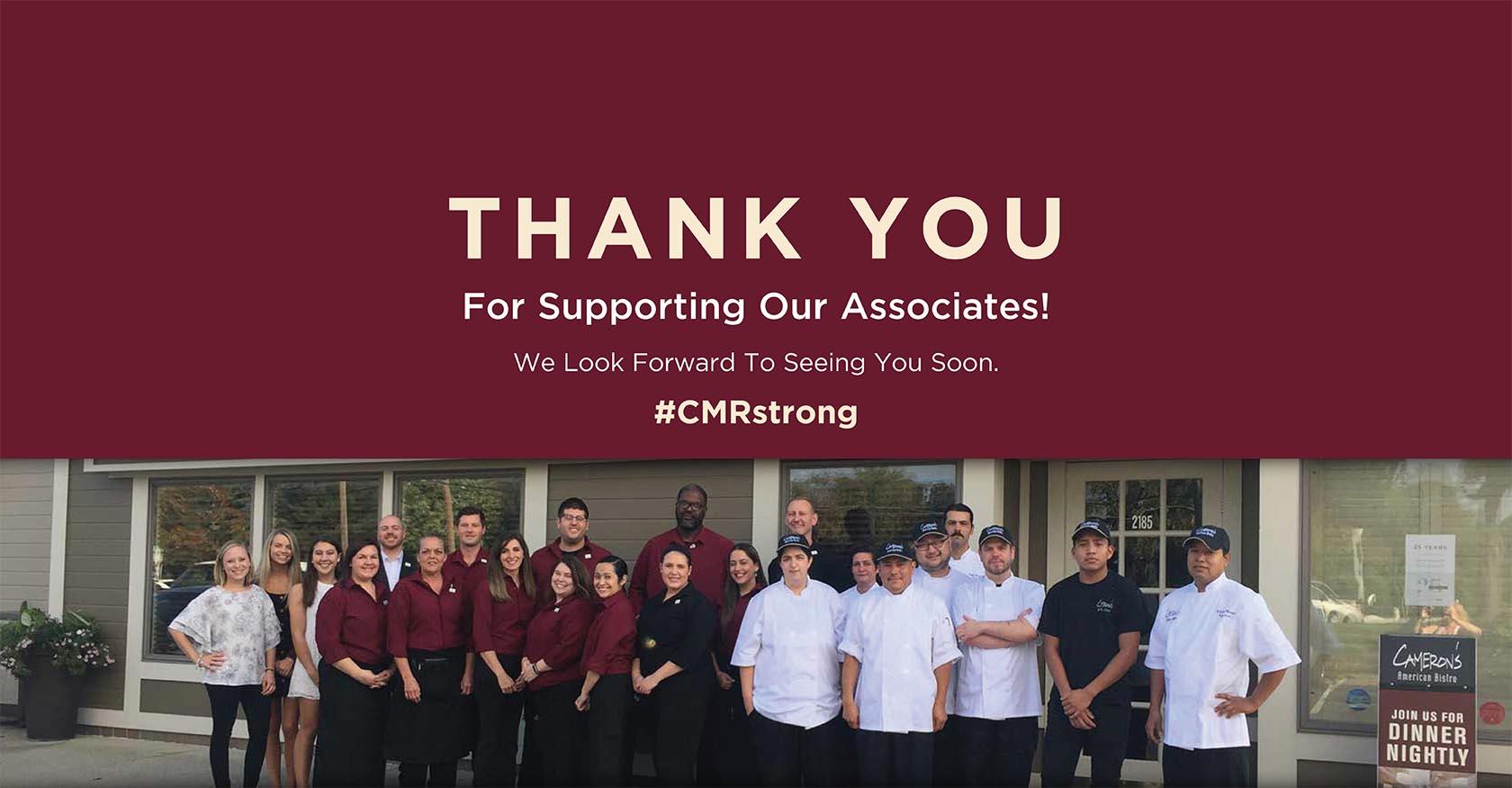 CMR Associates Relief Fund